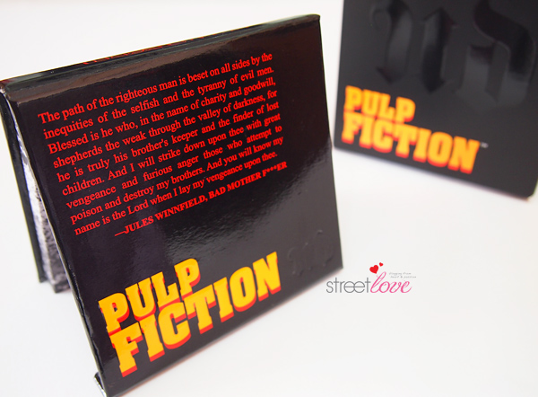 Urban Decay Pulp Fiction Eyeshadow Palette Packaging