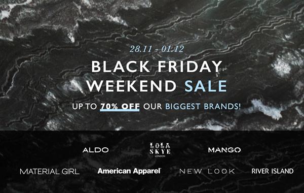 Zalora Black Friday Sale 2014