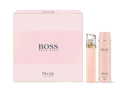 BOSS MA VIE EDP 75ml + Body Lotion 200ml (RM305)
