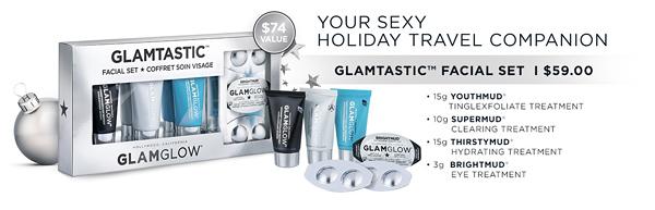 GlamGlow Glamtastic Facial Set
