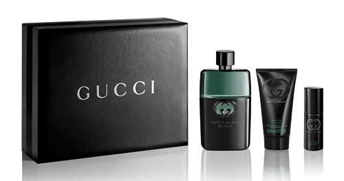 Gucci Guilty pour Homme Black EDT 90ml + Shower Gel 50ml + OTG Spray 8ml (RM291)