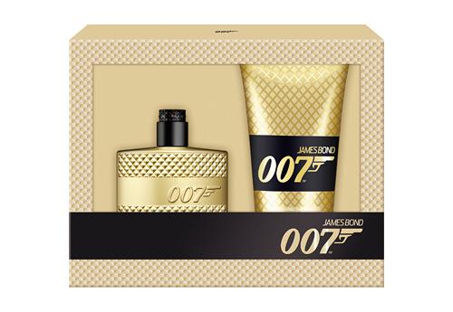 James Bond 007 EDT 50ml Gold + Shower Gel 150ml Gold (RM105)