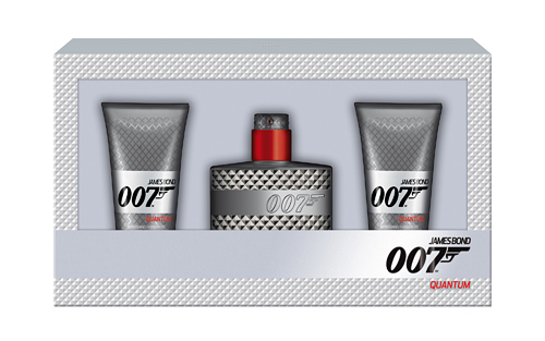 James Bond 007 Quantum 50ml + 2 50ml Shower Gel (RM105)