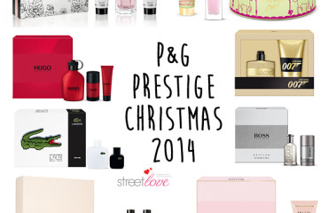 P&G Prestige Christmas 2014