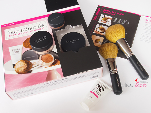 BareMinerals Customizable 6-Piece Get Started Kit: My current favourite mineral powder foundation | Street Love