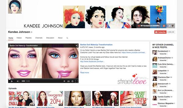 Kandee Johnson Youtube