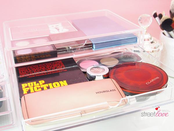 Muji Acrylic 5 Drawer Box Eyeshadow Palette