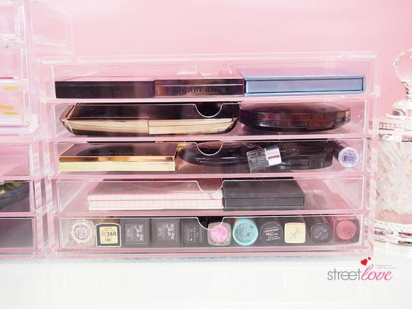 Muji Acrylic 5 Drawer Box