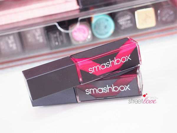 Smashbox Be Legendary Long Wear Lip Lacquer After Dark and Knockout