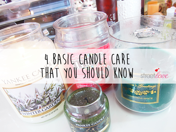 4 Basic Candle Care That You Should Know 1
