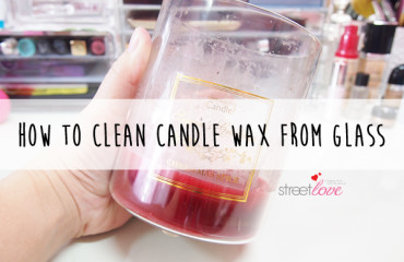 How to Clean Candle Wax From Glass 1