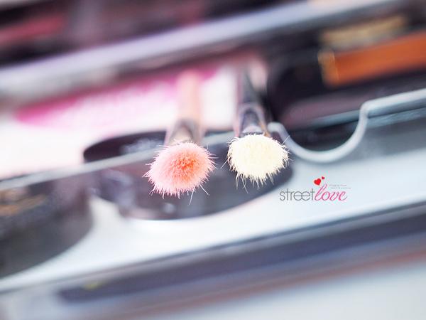 Bdellium Pink Bambu Series 776 Comparison with Sigma E25 Blending Brush
