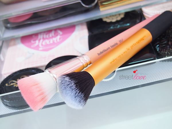 Bdellium Pink Bambu Series 957 Precision Cheek Brush