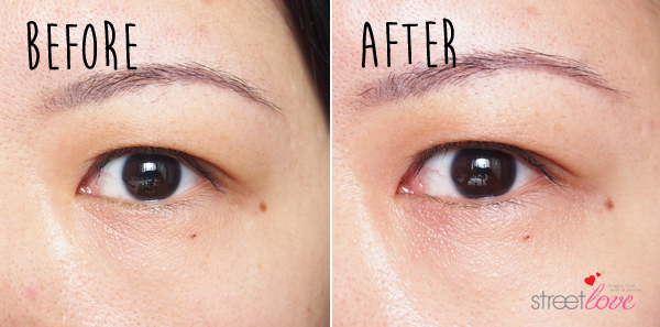 SK-II Magnetic Eye Care Kit Before and After Left
