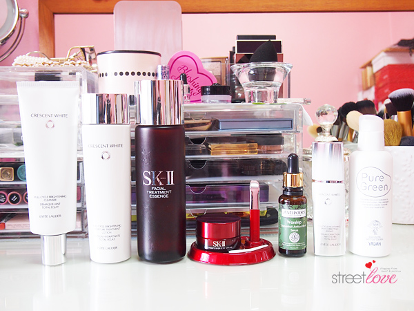 My Day Skincare Routine 2015 Products