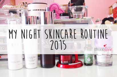 My Night Skincare Routine 2015