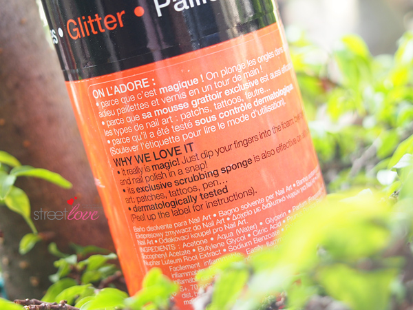 Sephora Instant Nail Polish Remover for Glitter Claims