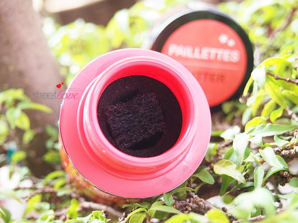 Sephora Instant Nail Polish Remover for Glitter Inside Bottle