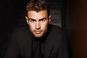 Theo James for BOSS Parfums