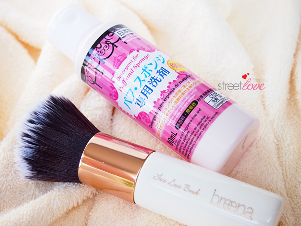 Three Makeup Brush Deep Cleansing Steps Daiso Detergent