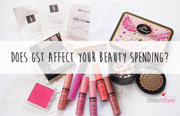 Does GST affect beauty spending