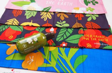 Innisfree Eco Handkerchief Campaign
