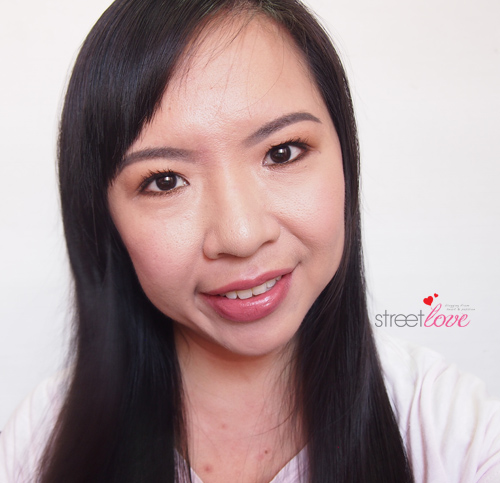 L'Occitane Pivoine Sublime Skin Tone Perfecting Cream with Full Makeup