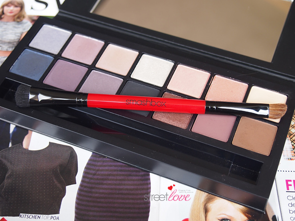 Smashbox Double Exposure Palette Dual-Ended Brush Upclose
