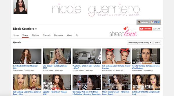 Nicole Guerriero YouTube