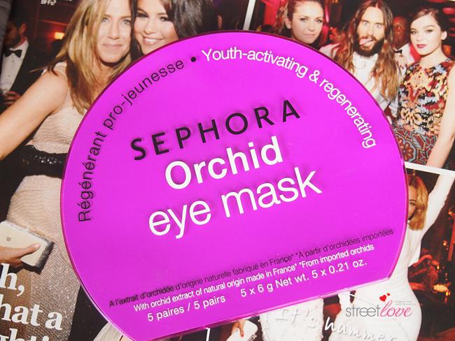 Sephora Orchid Eye Mask