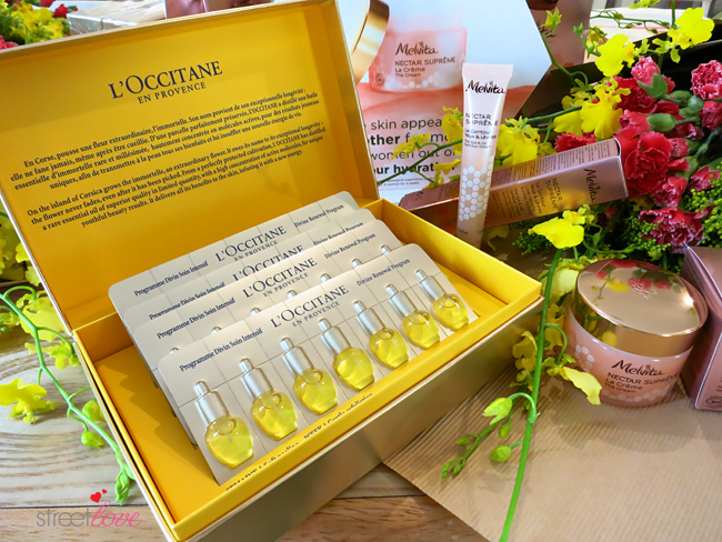L'Occitane Immortelle 28 Day Divine Renewal Program