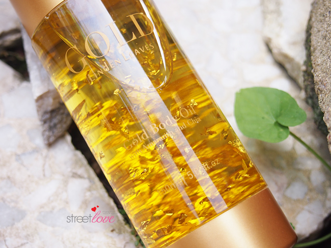 Linden Leaves Gold Body Oil 2