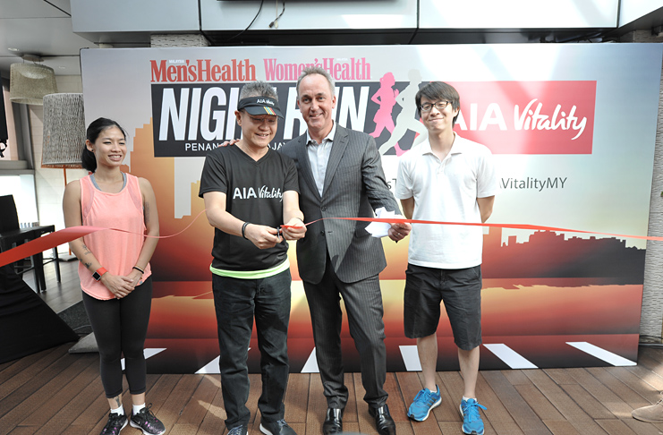 Men's Health Women's Health Night Run