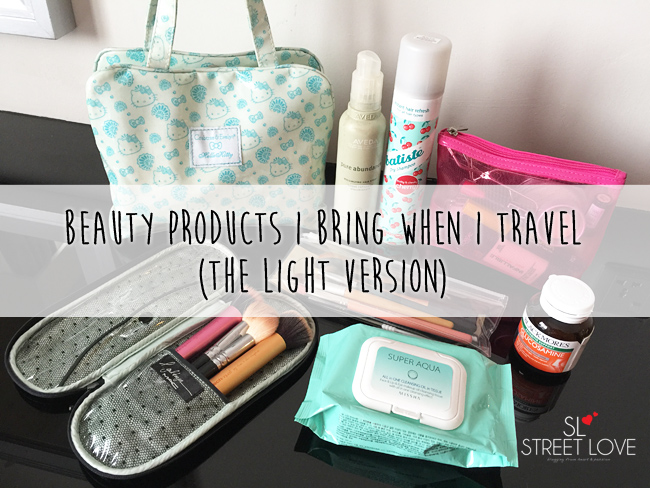 Beauty Products I Bring When I Travel 6