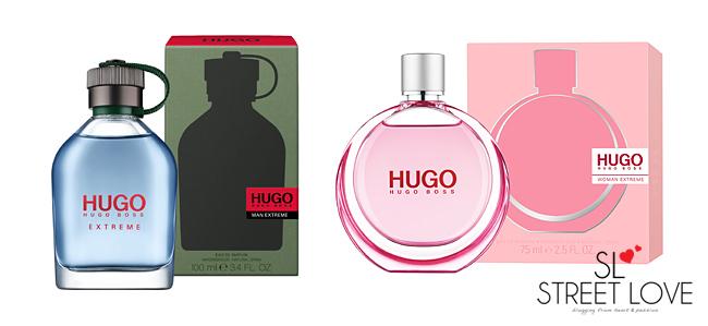 HUGO MAN Extreme and HUGO WOMAN Extreme