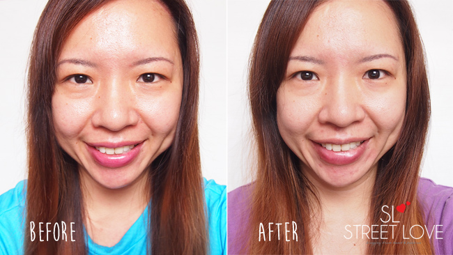 SK-II GenOptics Before and After