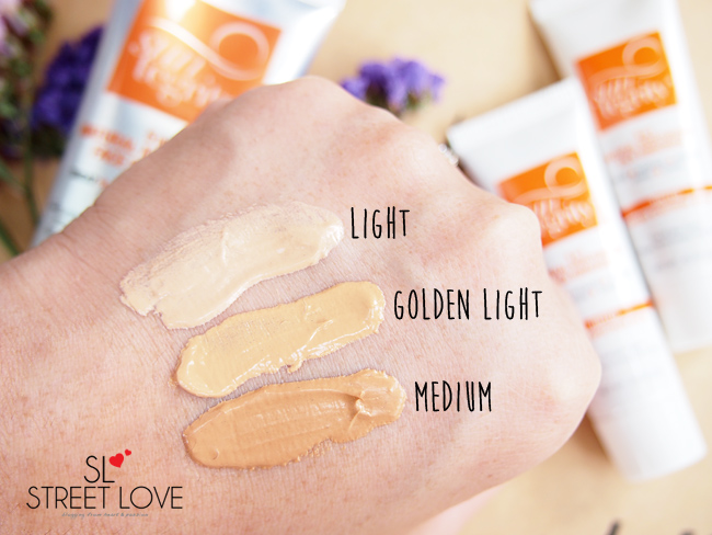 Suntegrity 5-in-1 Natural Moisturizing Face Sunscreen Swatches