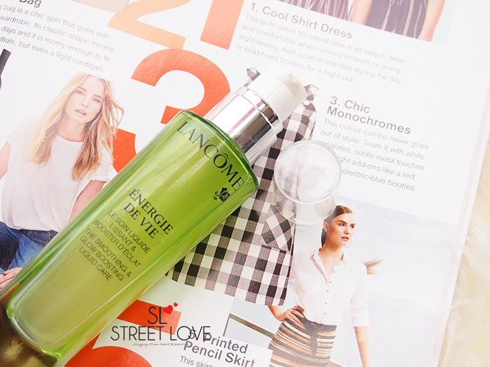 Lancome Energie De Vie The Smoothing & Glow Boosting Liquid Care 2
