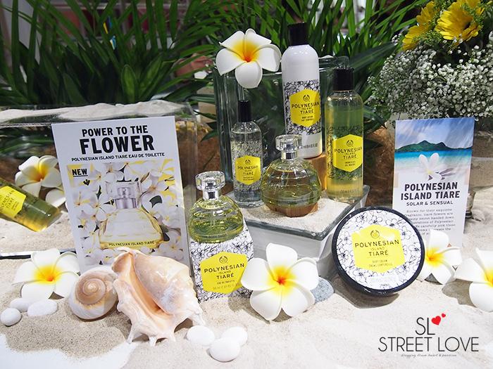 The Body Shop Polynesian Island Tiaré 1