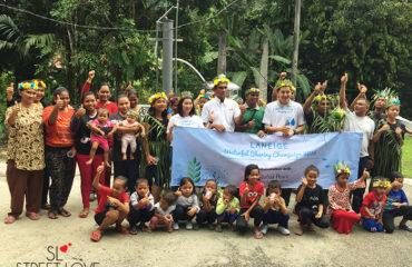 Laneige Waterful Sharing Campaign Handover Ceremony in Kampung Ulu Geruntum 16