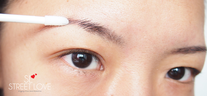 Realash Brow Conditioner First Impression
