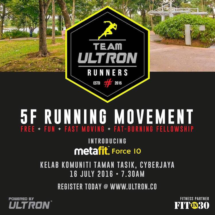 Ultron 5F Running Movement