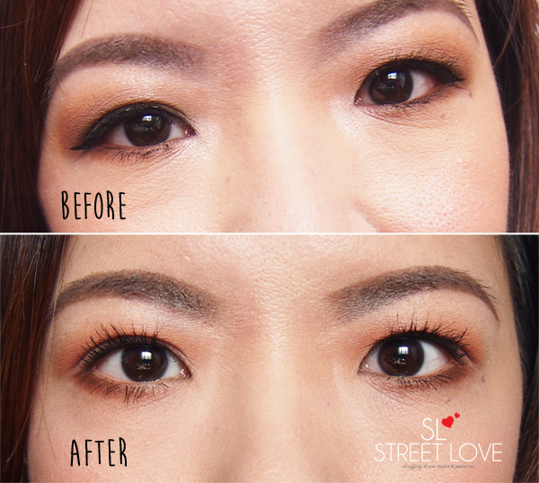 Realash Brow Conditioner and Eyelash Enhancer After 1 Month