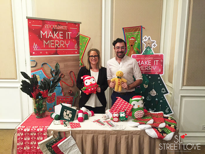 Spotlight Make It Merry Workshop Eva Daly and Nick Casey