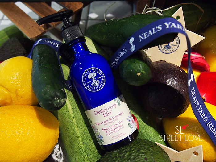 Neal's Yard Remedies Deliciously Ella Rose, Lime & Cucumber Moisturiser