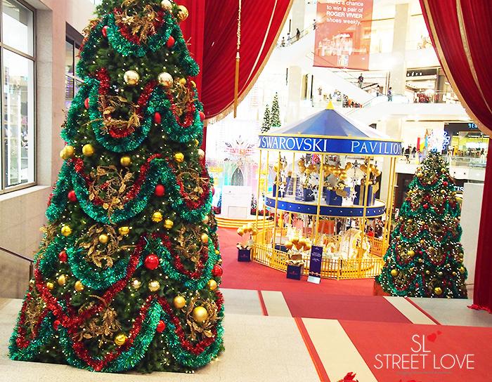 World's First Swarovski Crystallised Merry Go Round at Pavilion KL 1