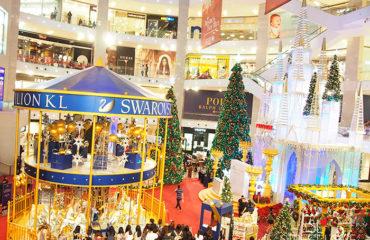 World's First Swarovski Crystallised Merry Go Round at Pavilion KL 2