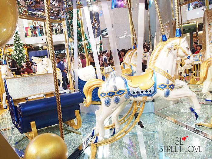 World's First Swarovski Crystallised Merry Go Round at Pavilion KL 3