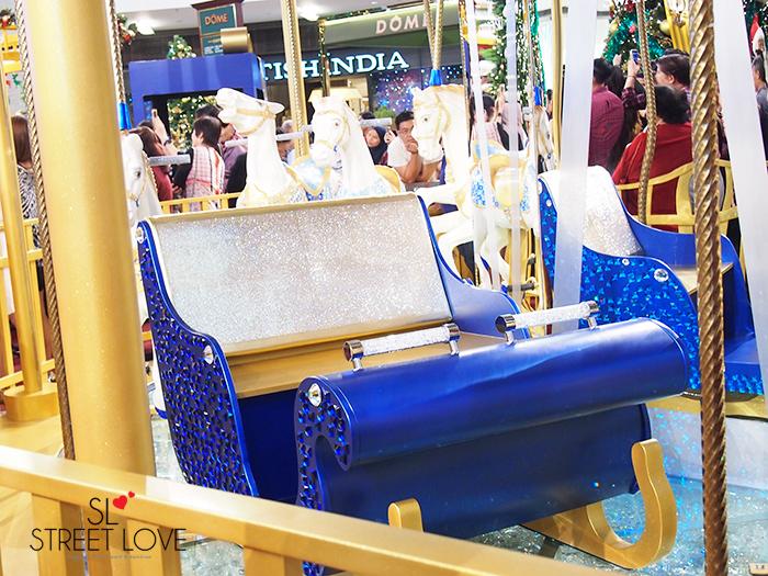 World's First Swarovski Crystallised Merry Go Round at Pavilion KL 4