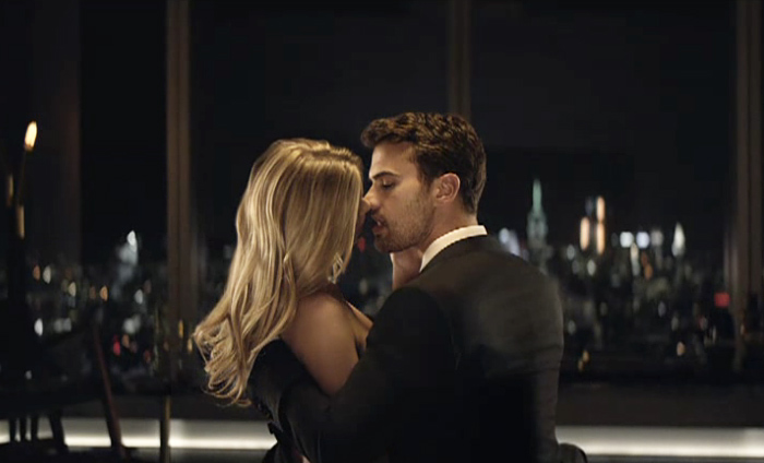 BOSS THE SCENT film with Anna Ewers & Theo James 1